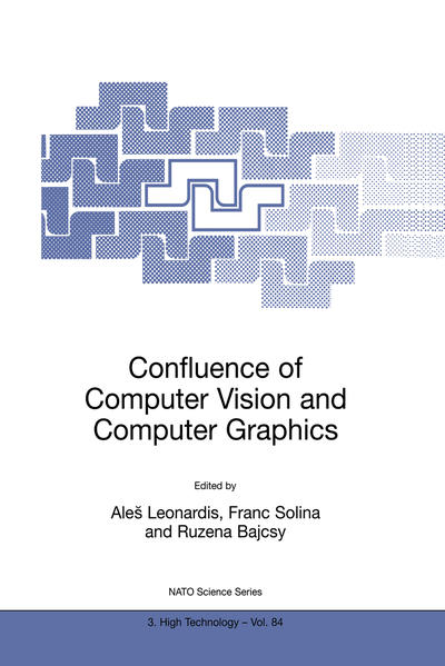Confluence of Computer Vision and Computer Graphics - Coverbild