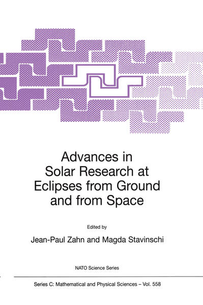 Advances in Solar Research at Eclipses from Ground and from Space - Coverbild
