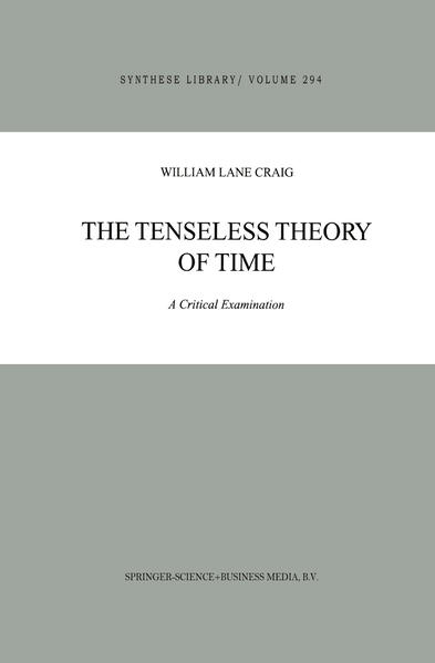 The Tenseless Theory of Time - Coverbild
