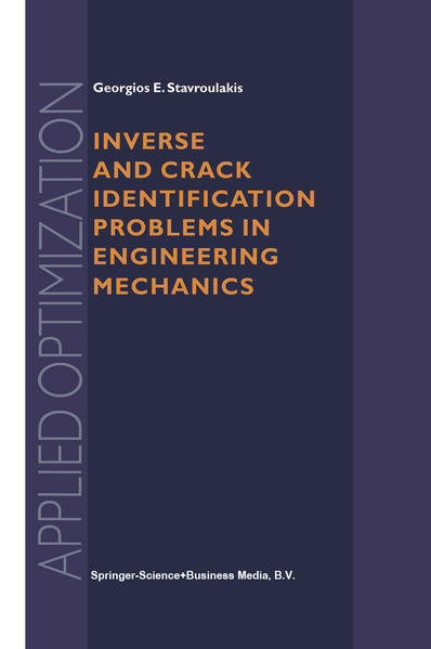 Inverse and Crack Identification Problems in Engineering Mechanics - Coverbild