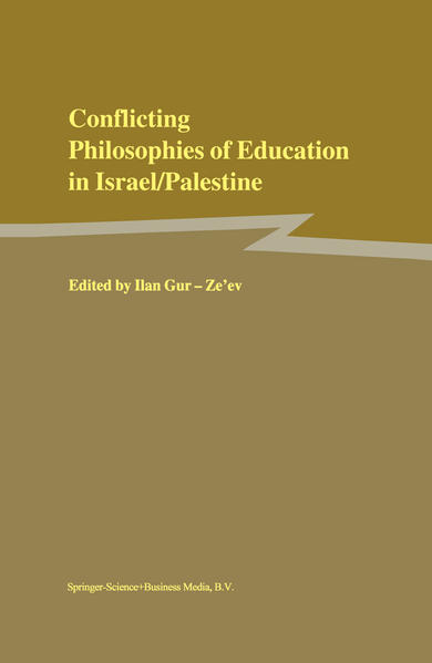 Conflicting Philosophies of Education in Israel/Palestine - Coverbild