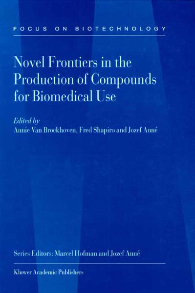 Novel Frontiers in the Production of Compounds for Biomedical Use - Coverbild