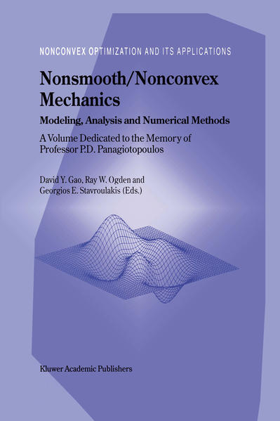 Nonsmooth/Nonconvex Mechanics - Coverbild