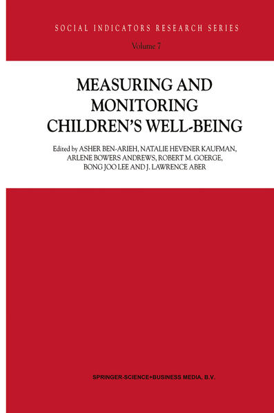 Measuring and Monitoring Children's Well-Being - Coverbild