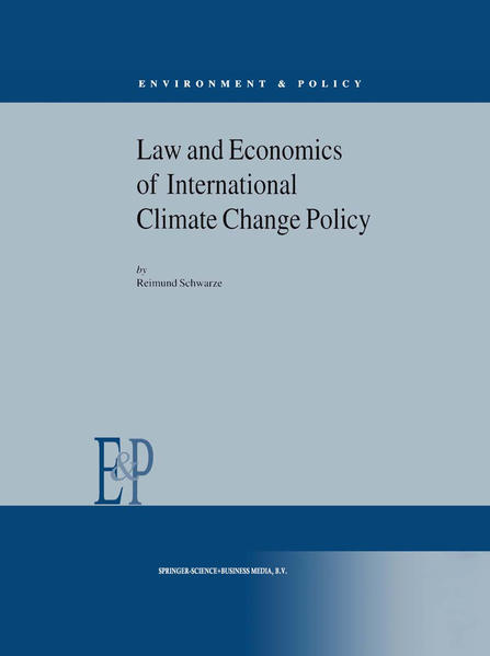 Law and Economics of International Climate Change Policy - Coverbild