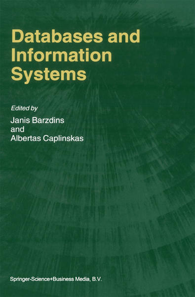 Databases and Information Systems - Coverbild