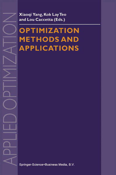 Optimization Methods and Applications - Coverbild