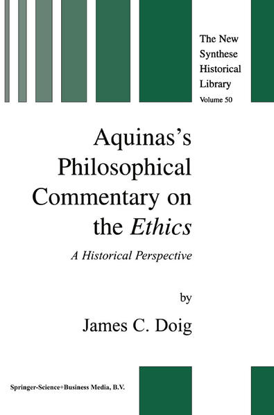 Aquinas's Philosophical Commentary on the Ethics - Coverbild