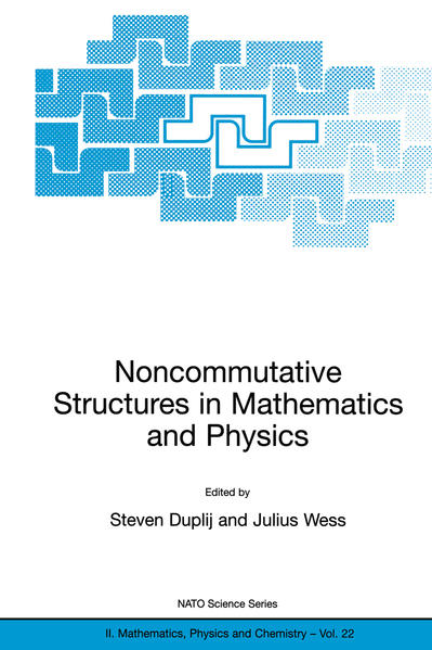 Noncommutative Structures in Mathematics and Physics - Coverbild