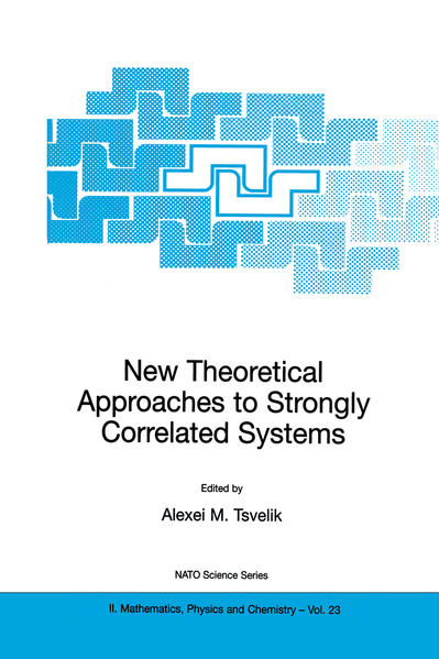 New Theoretical Approaches to Strongly Correlated Systems - Coverbild
