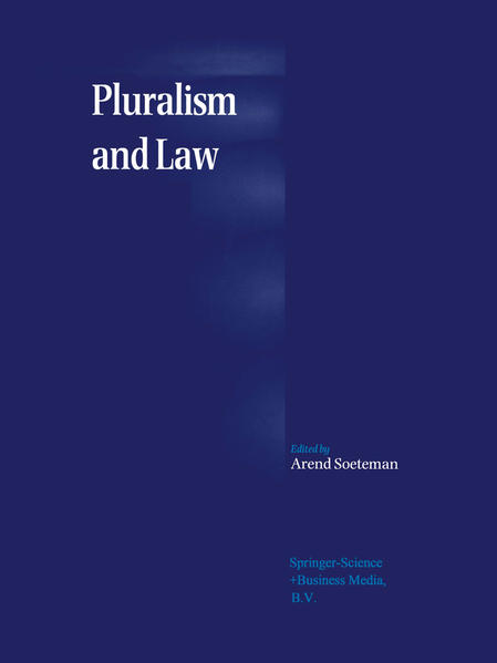 Pluralism and Law - Coverbild