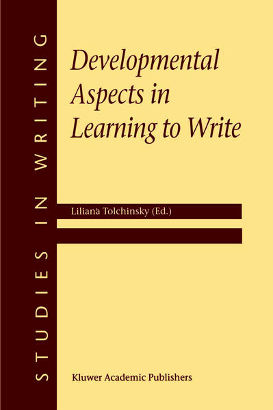 Developmental Aspects in Learning to Write - Coverbild