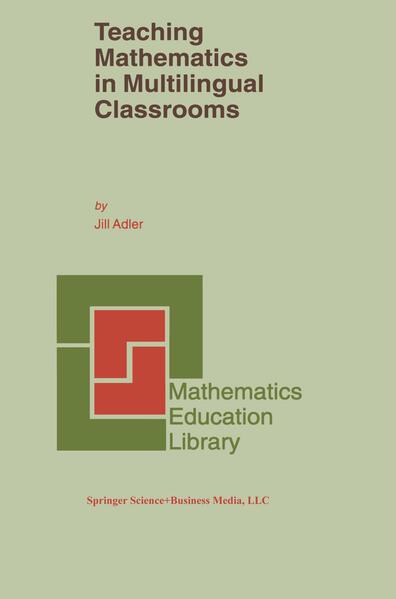 Teaching Mathematics in Multilingual Classrooms - Coverbild
