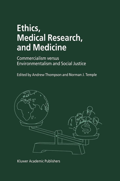 Ethics, Medical Research, and Medicine - Coverbild