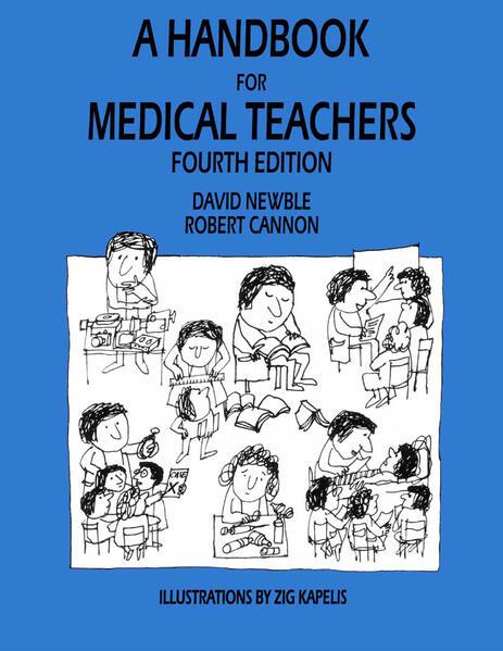 A Handbook for Medical Teachers - Coverbild
