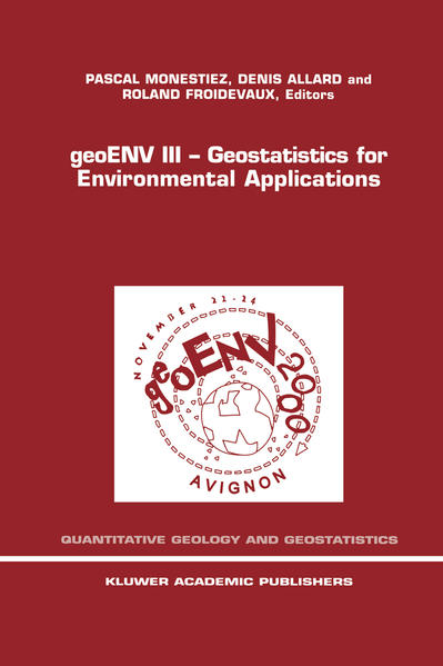 geoENV III — Geostatistics for Environmental Applications - Coverbild