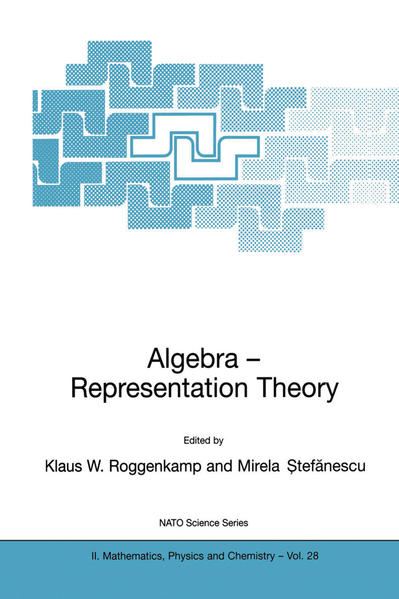Algebra - Representation Theory - Coverbild