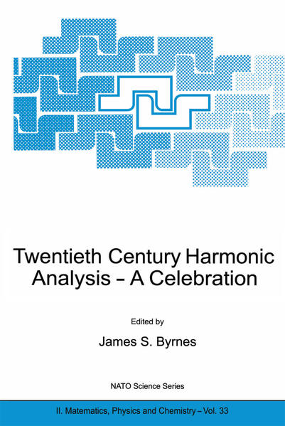 Twentieth Century Harmonic Analysis - Coverbild