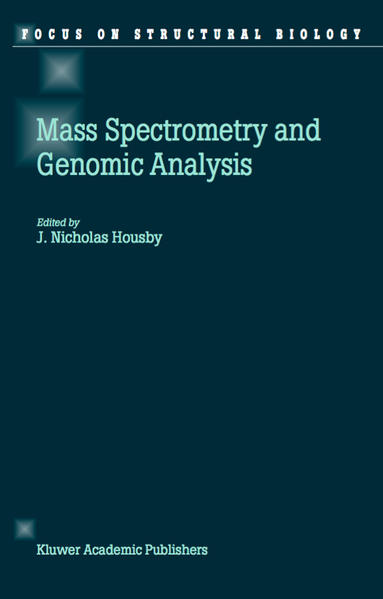 Mass Spectrometry and Genomic Analysis - Coverbild