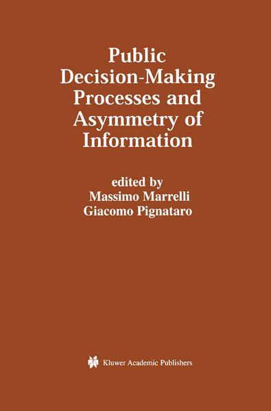 Public Decision-Making Processes and Asymmetry of Information - Coverbild