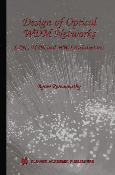 Design of Optical WDM Networks - Coverbild