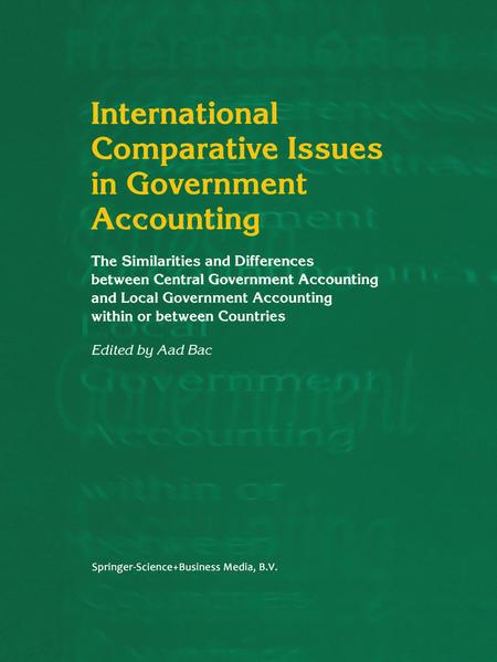 International Comparative Issues in Government Accounting - Coverbild