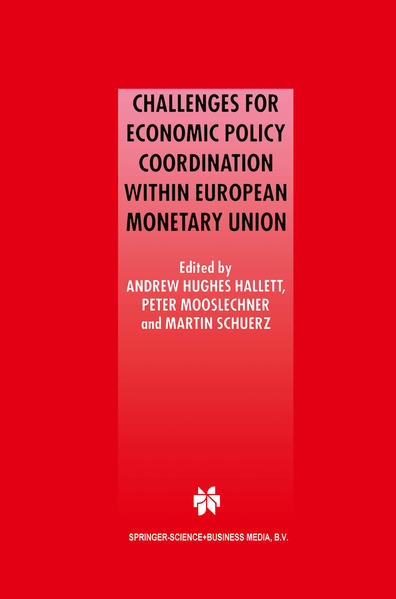 Challenges for Economic Policy Coordination within European Monetary Union - Coverbild
