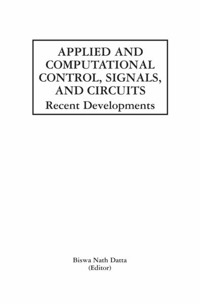 Applied and Computational Control, Signals, and Circuits - Coverbild
