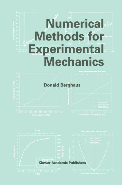 Numerical Methods for Experimental Mechanics - Coverbild