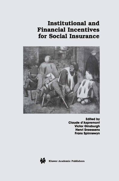 Institutional and Financial Incentives for Social Insurance - Coverbild