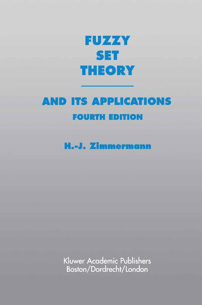 Fuzzy Set Theory—and Its Applications - Coverbild