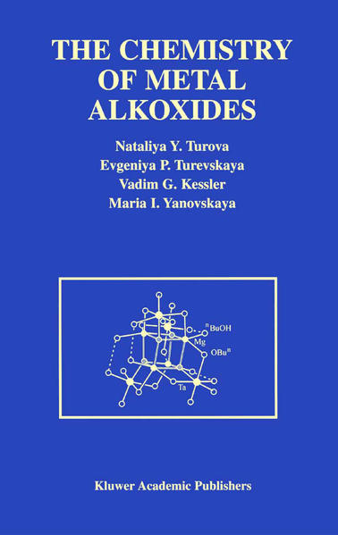 The Chemistry of Metal Alkoxides - Coverbild