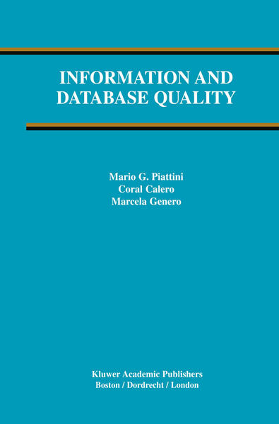 Information and Database Quality - Coverbild
