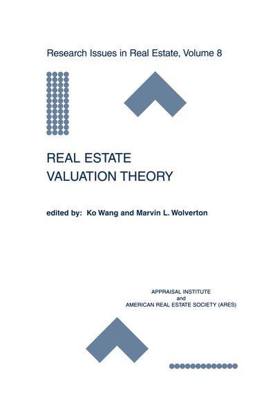 Real Estate Valuation Theory - Coverbild