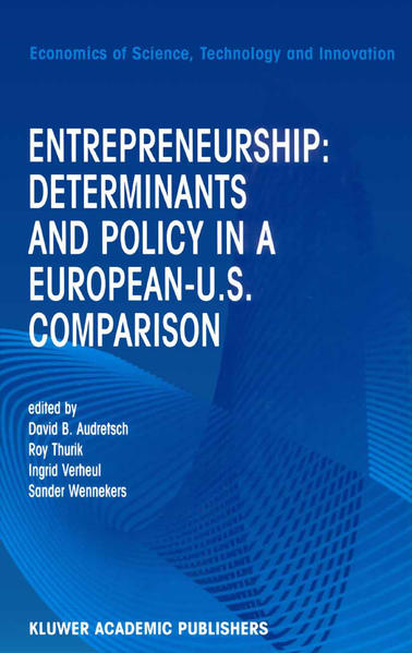 Entrepreneurship: Determinants and Policy in a European-US Comparison - Coverbild