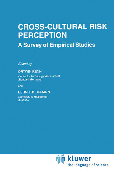 Cross-Cultural Risk Perception - Coverbild