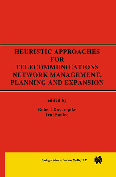 Heuristic Approaches for Telecommunications Network Management, Planning and Expansion - Coverbild