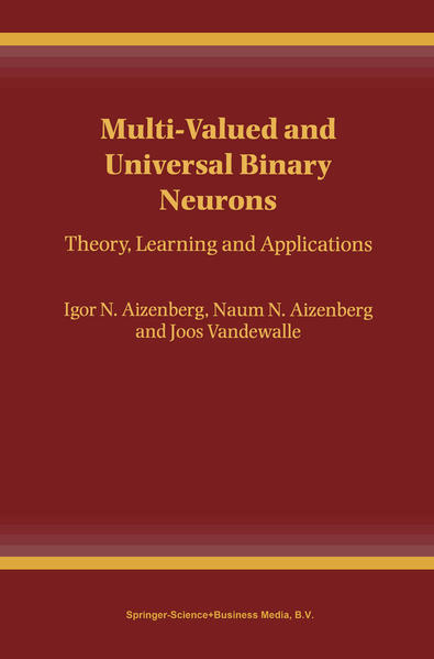 Multi-Valued and Universal Binary Neurons - Coverbild