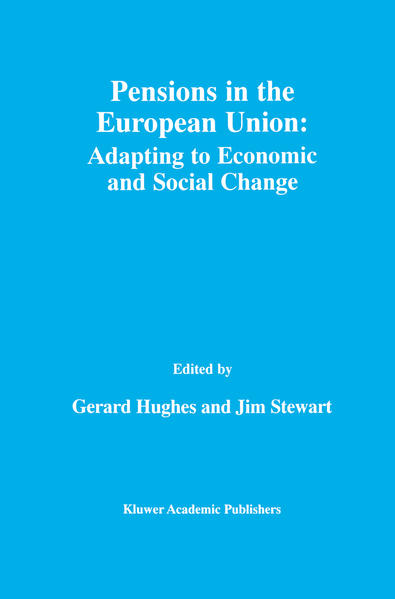Pensions in the European Union: Adapting to Economic and Social Change - Coverbild