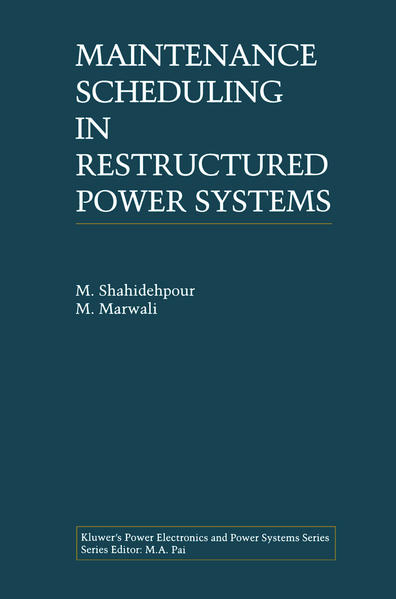 Maintenance Scheduling in Restructured Power Systems - Coverbild