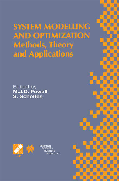 System Modelling and Optimization - Coverbild