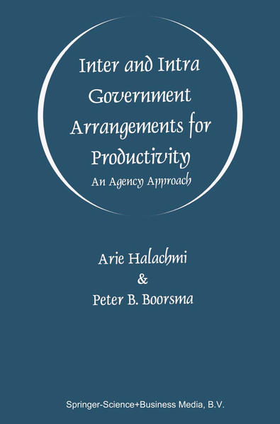 Inter and Intra Government Arrangements for Productivity - Coverbild