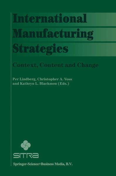 International Manufacturing Strategies - Coverbild