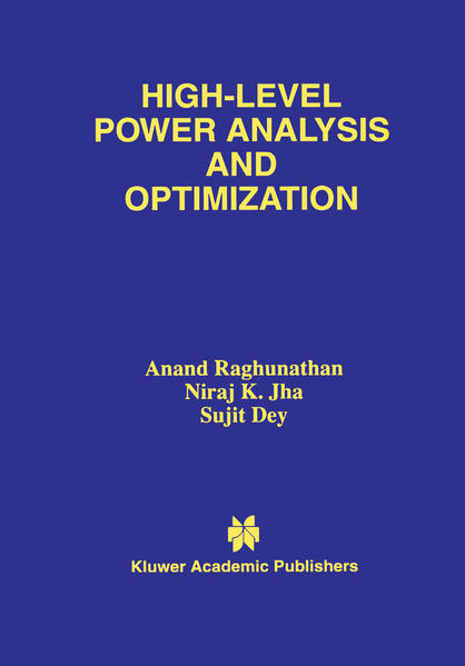High-Level Power Analysis and Optimization - Coverbild