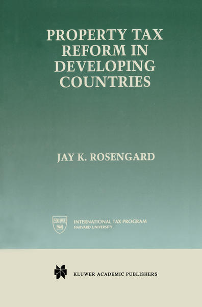 Property Tax Reform in Developing Countries - Coverbild