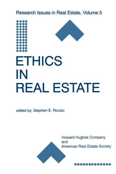 Ethics in Real Estate - Coverbild