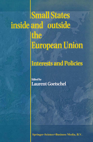 Small States Inside and Outside the European Union - Coverbild