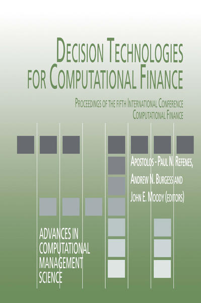 Decision Technologies for Computational Finance - Coverbild
