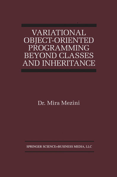Variational Object-Oriented Programming Beyond Classes and Inheritance - Coverbild