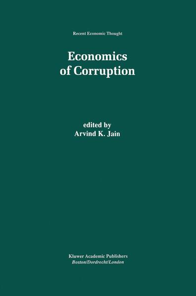 Economics of Corruption - Coverbild